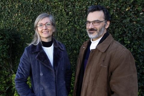 GE visita na redação de Simone Grohs e Hector Nieves, psicólogos e autores do livro
