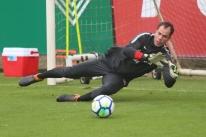 Marcelo Lomba pode ser titular contra o Vasco