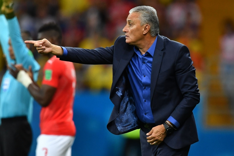 ESP COPA DO MUNDO DA FIFA 2018 FUTEBOL RÚSSIA SELEÇÃO BRASIL X SUÍÇA JOGADOR DE FUTEBOL