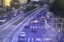 Acidentes geram lentidão no trânsito nesta manhã de quinta-feira