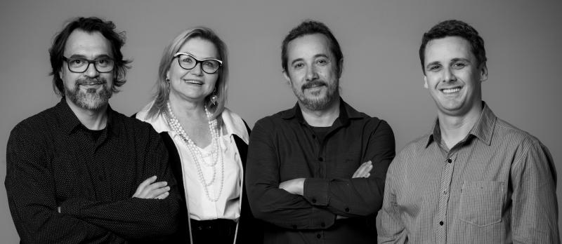 Marcelo Bacchin, Eliana Azeredo, Renê Goya Filho e Lúcio Richetti