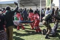 Presidente chama de 'ato covarde' explosão e assegura eleições