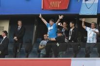 O gol de Maradona