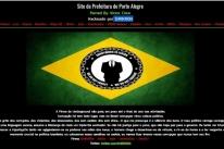 Hackers invadem site da prefeitura de Porto Alegre