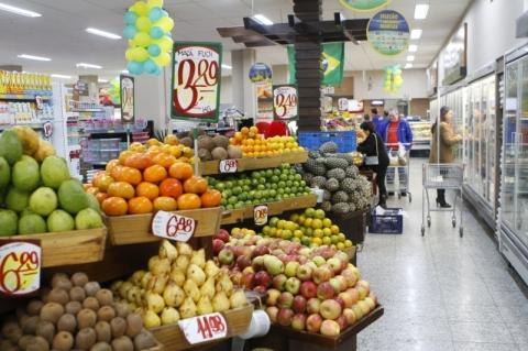 Vendas reais em supermercados crescem 2,07% em 2018, revela Abras