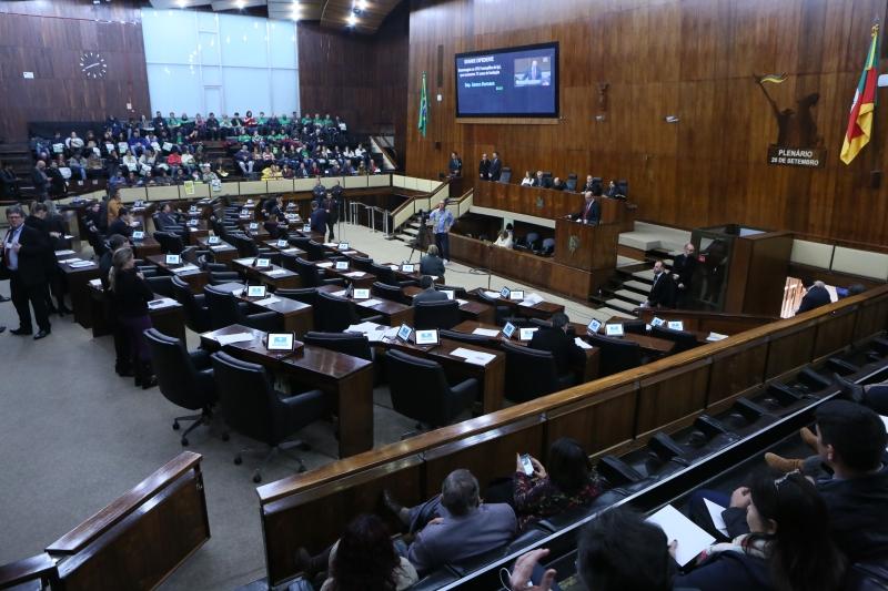 Matéria precisa ser aprovada em dois turnos no plenário do Parlamento