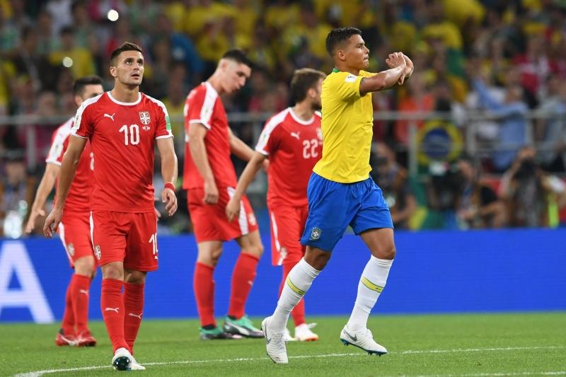 Thiago Silva coroou atuação segura marcando o segundo gol brasileiro