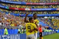 Mina marca, Colômbia vence e avança na Copa; Senegal cai pelo número de cartões