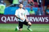 Interino confirma ausência de Messi na seleção argentina para encarar o Brasil