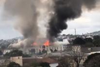 Incêndio atinge unidade do Exército em São Leopoldo