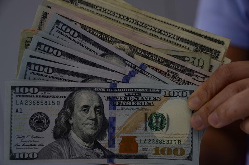 O dólar à vista fechou em R$ 3,8133