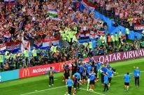 Croácia bate Inglaterra por 2 a 1 e chega à final pela primeira vez