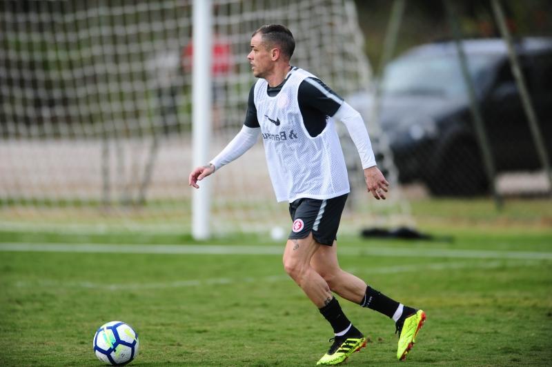 Em Atibaia, a novidade foi a volta de D'Alessandro aos treinamentos