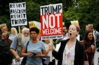 Trump faz primeira visita oficial ao Reino Unido