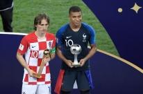 Apesar do vice, Modric é eleito melhor jogador da Copa; Mbappé é a revelação