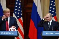 Trump e Putin elogiam