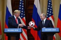 Putin e Trump negam conluio na eleição dos EUA