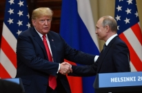 'Aceito a conclusão a respeito da interferência da Rússia na eleição', diz Trump