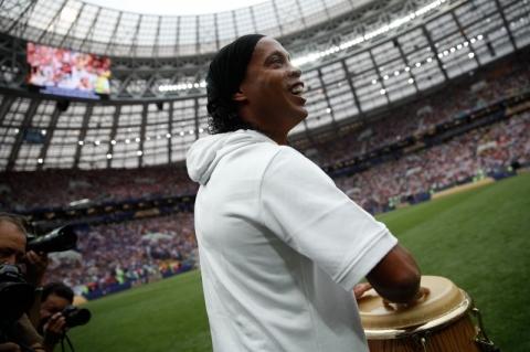 Ronaldinho Gaúcho cria sua própria criptomoeda