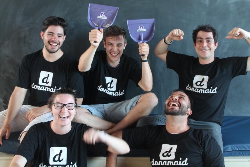 Criadores da startup Donamaid, de Pelotas