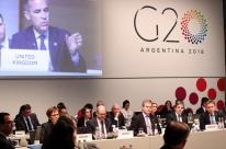 G-20 vê tensão comercial e pede mais diálogo entre países