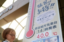 Onda de calor no Japão deixa quase 80 mortos