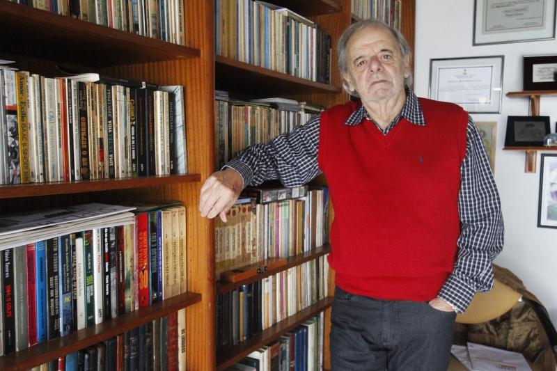 Sergio Faraco esboçou os primeiros textos ainda no serviço militar