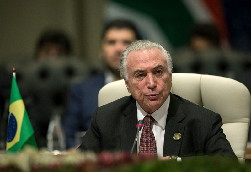 Temer é réu acusado de ter participado de desvios na estatal Eletronuclear
