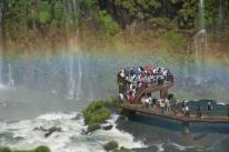 Parque Nacional do Iguaçu antecipa recorde de visitantes em julho