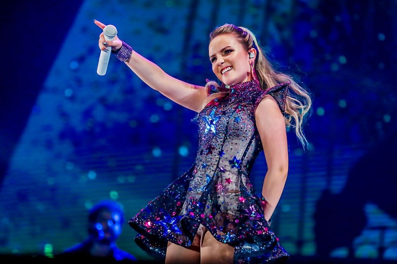 adad5973c9354 Larissa Manoela faz show na capital gaúcha neste domingo. Artista apresenta  repertório do seu primeiro DVD, Up Tour, gravado em junho de 2017