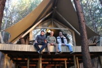 Nova opção de turismo mistura glamour e acampamento em São Francisco