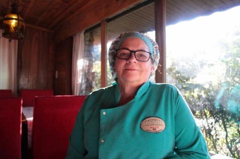 Tereza, de Porto Alegre, orgulha-se de ver os filhos na lida do negócio