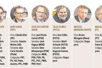 Oito candidatos vão disputar o Palácio Piratini