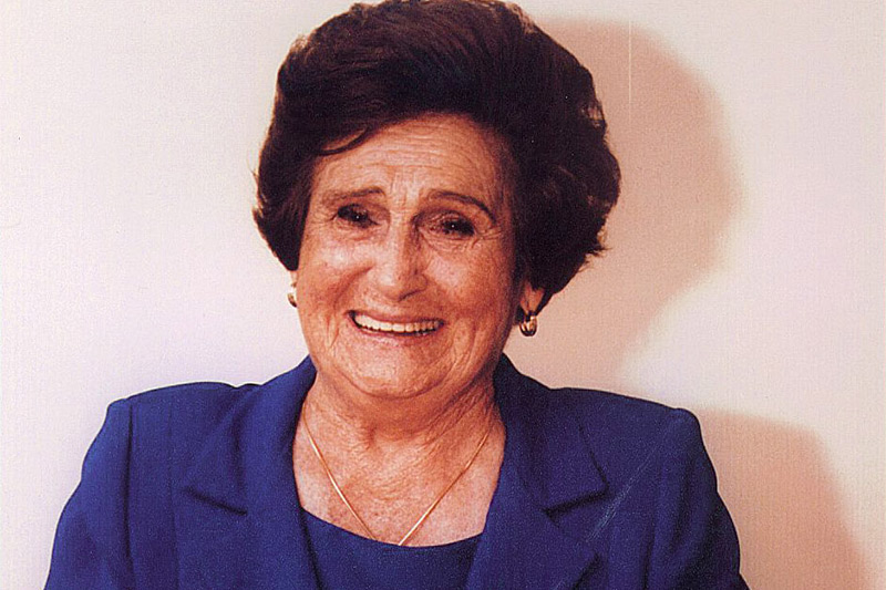 Ao lado do marido, Santina De Carli Zaffari fundou o Grupo Zaffari em 1935