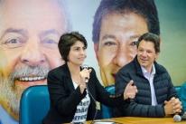 'Eu e Haddad estamos prontos para vencer eleição em qualquer cenário', diz Manuela