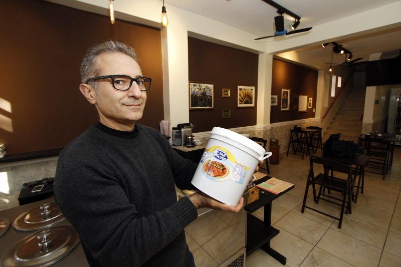 Campello comemora que o ingrediente usado em seu sorvete artesanal já é vendido em Porto Alegre
