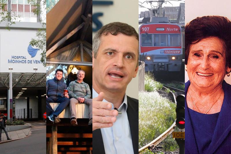 Emprego no Moinho de Vento, o novíssimo Tedesco Eco Park, as propostas de Mateus Bandeira, acidente no Trensurb e a morte de Santina Zaffari foram temas que geraram grande interesse