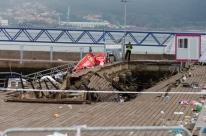 Plataforma desmorona em festival na Espanha e deixa 313 feridos
