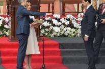 Abdo assume a presidência do Paraguai