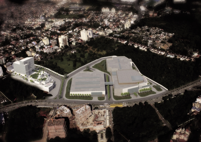 Todo o complexo contará com investimento de R$ 850 milhões