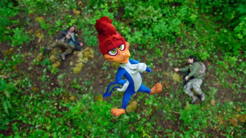 Antigo desenho animado, Pica-Pau virou filme e estreia na TV a cabo
