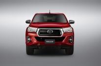 Hilux segue valorizando a robustez da picape da Toyota