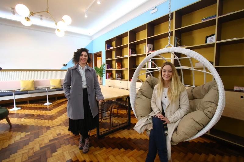 Gabriela Teló e Gabriela Stragliotto criaram a Nuwa, coworking e plataforma de negócios para o público feminino