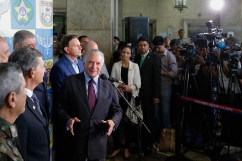 Temer diz que fechar fronteira a venezuelanos é 'incogitável e inegociável'