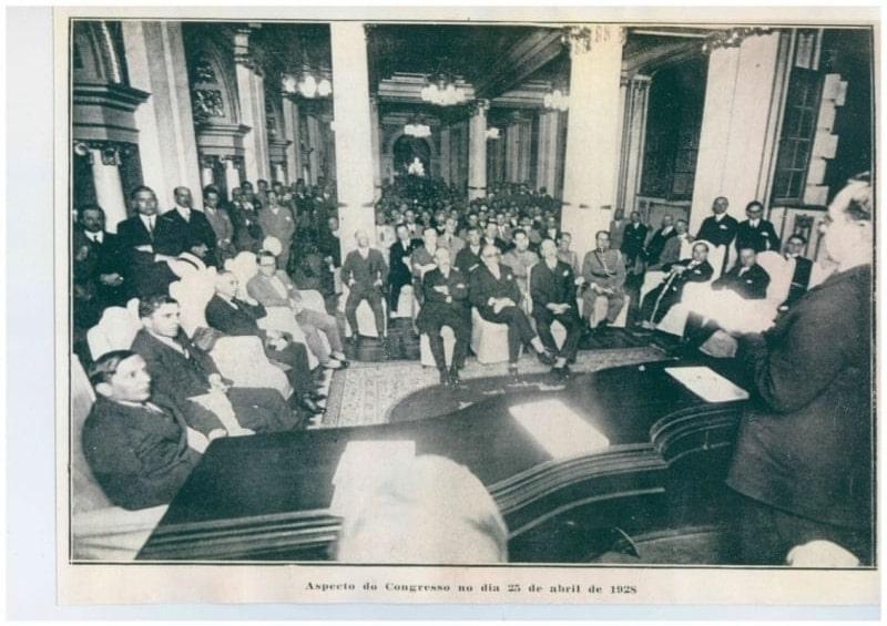 Congresso dos Criadores, em 1927 no Theatro São Pedro