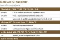 Agenda 2020 define prioridades para os concorrentes ao Piratini