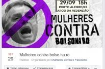Em duas semanas, mais de 1 milhão de mulheres se une contra Bolsonaro no Facebook