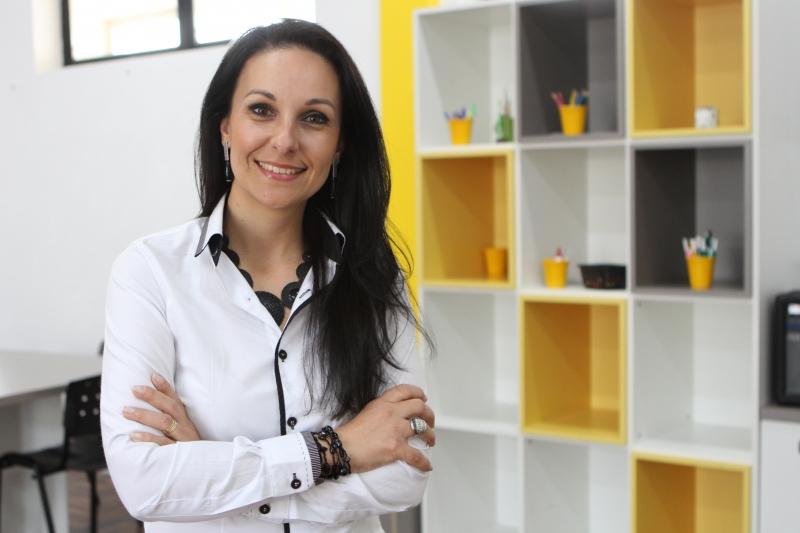 Patrícia Coelho é coordenadora do projeto na faculdade de Ciências Contábeis da instituição