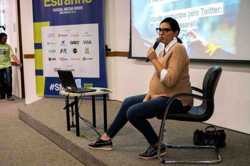 Ana Passarelli falou no primeiro dia da Smwsp