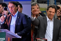 Bolsonaro sobe para 32% das intenções de voto; Haddad tem 21%, aponta Datafolha